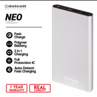 DELCELL POWER BANK NEO 10.000mAh - SILVER