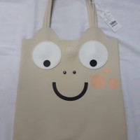 Tote Bag Katak CREAM IMPORT KUALITAS BAHAN KULIT PU LEATHER