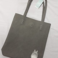 Tote Bag Totoro ABU-ABU IMPORT KUALITAS BAHAN KULIT PU LEATHER