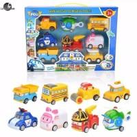 Mainan Robocar Poli P5 Set isi 8 dus - Mainan Anak Robocar Poli