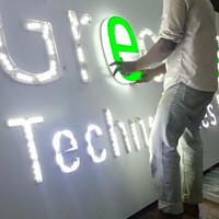 Lampu led huruf Timbul Lampu neon box led reklame