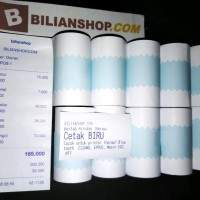 Paling Laku Kertas Thermal 57X30 58X30 Mm Coreless Edc Struk Kasir