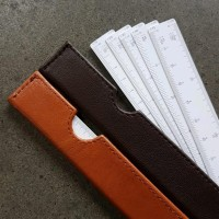 Termurah Leather Scale Ruler -Penggaris Skala Kipas-