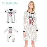 Baseball Long Sleeves Nursing Dress Baby Clothes Baju Hamil Menyusui