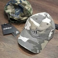 Topi ADIDAS baseball cap camo/loreng/army import premium quality