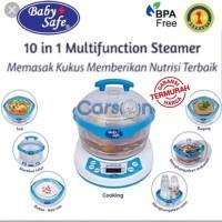 Babysafe LB005 Steamer 10 in 1 Baby Safe Sterilizer Botol Food Maker