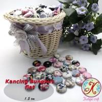 Kancing Bungkus Flat 1,5cm Motif per 100 pcs