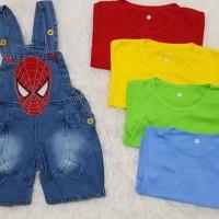 Baju Anak Bayi Lakilaki Baju Overall Baju Kodok Superhero Spiderman