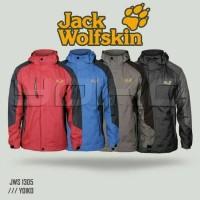 Jaket Gunung Outdoor Jack Wolfskin 1305 Waterproof Import