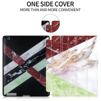 iPad 2/3/4 Marble Transformer Smart Cover Case