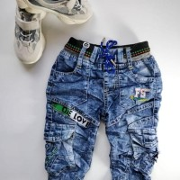 Best Brand Celana Soft Jeans Anak Fashion Laki Fs