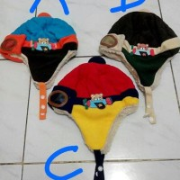 best brand topi pilot anak & bayi rajut