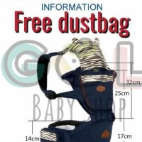best brand gol gendongan bayi 4 in 1 hipseat baby carrier aiebao 6626