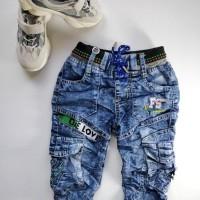 Best Seller Celana Soft Jeans Anak Fashion Laki Fs