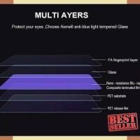 sedia ANTI BLUE LIGHT Tempered Glass Samsung A6 2018 5.6 inchi Anti