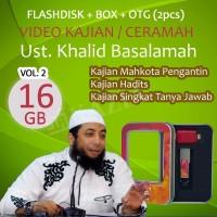 Flashdisk 16GB Kajian Ustadz Khalid Basalamah - Full video