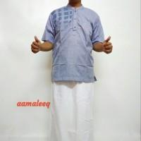 sarko pria (celana sarung dan koko)