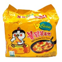 Samyang Hot Chicken Instant Ramen - Cheese (5pcs)- HALAL