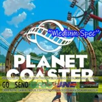PLANET COASTER CD DVD GAME PC GAMING PC GAMING LAPTOP GAMES