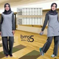 Believe BMS 05 - Baju Muslim Senam Olah Raga Syar'i Termurah Original