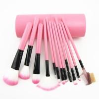 MakeUp Brush 12 set in tube / KUAS MAKEUP TABUNG ISI 12 PCS / MAKEUP B