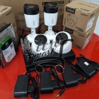 PAKET CCTV 4 CHANEL DAHUA 2MP 1080P FULL HD +HDD 1TB,KOMPLIT
