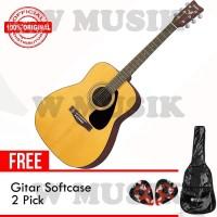 Yamaha Gitar Akustik Folk F-310 F310 F 310 - NT+ Softcase & 2pick