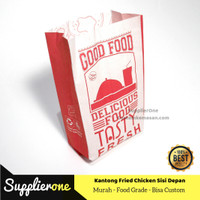 Kantong Bungkus Kemasan Fried Chicken| Kantong Kertas Fried Chicken 50