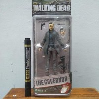 mainan action figure the governor the walking dead movie series by mcf