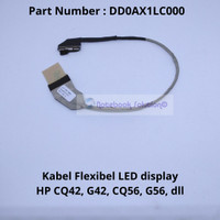 Kabel Flexible LCD Laptop Hp-Compaq CQ42, G42 G56 , CQ56 Series