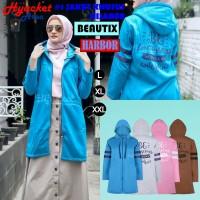 Jaket Hijab Wanita Muslimah Hijacket Beautix Harbor, All size M fit L