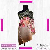 Pashmina Motif / Jilbab pashmina IMPOR / Pashmina Gliter Ori Turki
