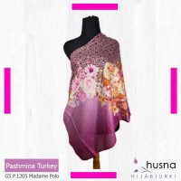 Premium scarf / pashmina / hijab import Gliter / Pashmin modis Turki