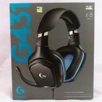 Logitech G431 / G 431 7.1 Surround Gaming Headset Garansi Resmi - Hita