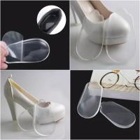 Silicone Gel Corrective Heel Insole / Sol Sepatu Koreksi Kaki Tipe O X