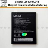 Baterai Handphone Lenovo A7000 A7000+ A7700 Plus BL243 Original Batre