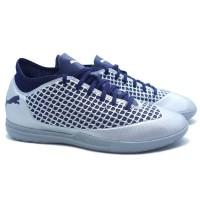Sepatu Futsal Puma Future 2.4 IT - Silver/Peacoat
