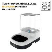 M-PETS NILE WATER DISPENSER 3 LITER / TEMPAT MINUM ANJING KUCING