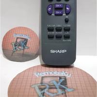 Remote Remote TV Sharp Tabung Menyerupai Original