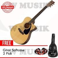 Yamaha Gitar Akustik Folk FS 100 C FS100C Natural - Softcase & 2 Pick
