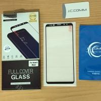 Full Glue Tempered Glass Samsung Note 9 Plus Kaca Edge Anti Gores Mika