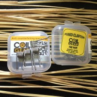 FUSED CLAPTON 26 NI80 HG 26x2 40 BY COIL GEAR COIL VAPOR AUTHENTIC