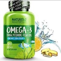 NATURELO OMEGA-3 TRIGLYCERIDE FISH OIL 120PCS