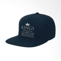 IndoClothing Kings Are Born In August 02 Topi Snapback