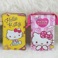 VERSI HELLO KITTY DIGITAL PRINTING TAS SLEMPANG SLING HP KOREA LUCU