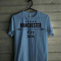 Kaos Tshirt Baju Manchester City size S - XXL