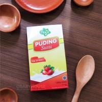 Nayz Puding Susu Strawberry 200gr