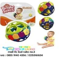 (Baby Clu Itc Bsd) Rattle Bola Bright Starts Flexi Ball Bendy Ball