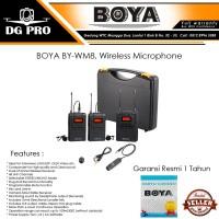 BOYA BY-WM8 UHF Dual-Channel wireless microphone system - BY-WM 8