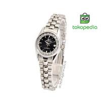 GARANSI 1 TAHUN Jam tangan MIRAGE RX Permata Silver 1580L pH